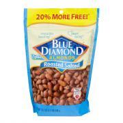 Blue Diamond Roasted Salted Almonds Bonus Bag