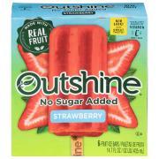 Outshine No Sugar Added Fruit Bars Strawberry