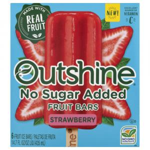 Outshine No Sugar Added Fruit Bars Strawberry