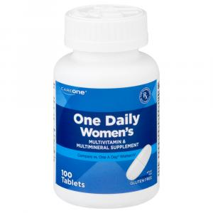 CareOne One Daily Women's Multivitamin Tablets