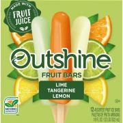 Outshine Citrus Variety Fruit Bars