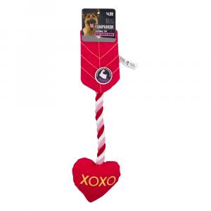 Companion Heart Arrow Dog Toy