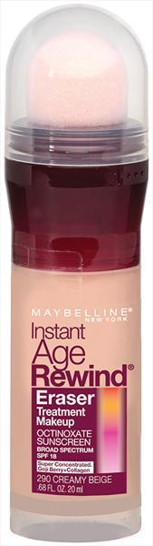 Maybelline IAR Eraser Foundation - Creamy Beige