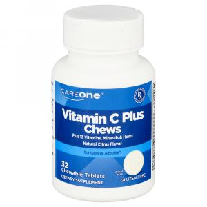 CareOne Vitamin C Plus Chewable Tablets