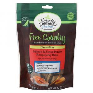 Nature's Promise Salmon & Sweet Potato Jerky Bites
