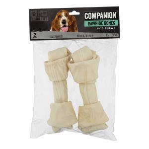 Companion Rawhide Bones