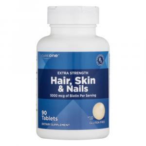 CareOne Extra Strength Hair, Skin & Nails 5000mcg Biotin