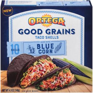 Ortega Good Grains Blue Corn Taco Shell