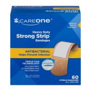 CareOne Heavy Duty Strong Strip Antibacterial Bandages