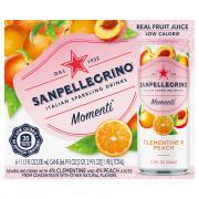 San Pellegrino Sparkling Clementine & Peach