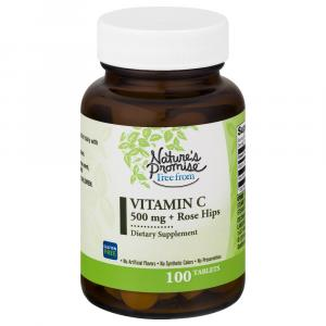 Nature's Promise Free From Vitamin C Plus Rose Hips 500 Mg