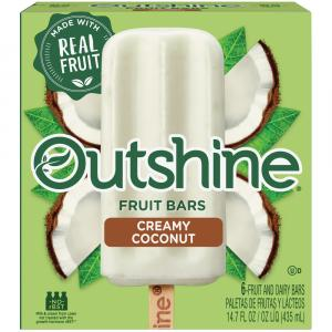 Outshine Fruit Bars Creamy Coconut