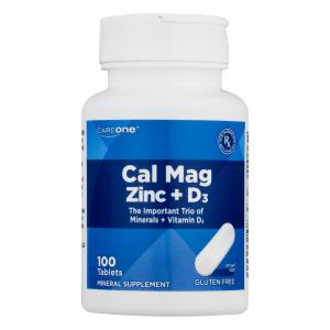 CareOne Cal Mag Zinc + D3 Tablets