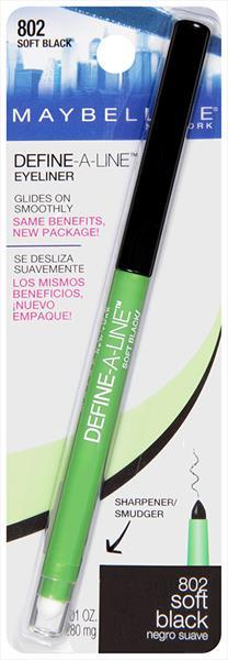 Maybelline Define-A-Line Eye Liner 02 Sft