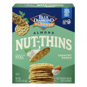 Blue Diamond Growers Country Ranch Nut Thins