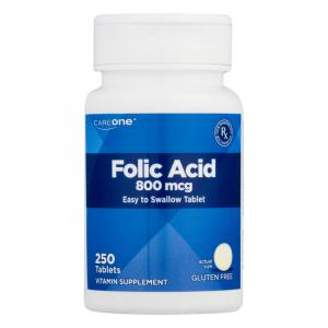 CareOne Folic Acid 800 MCG Tablets