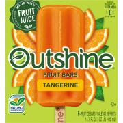 Nestle Outshine Tangerine Fruit Bars