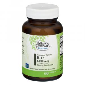 Nature's Promise Free From Prolonged Release B-12 1000 MCG