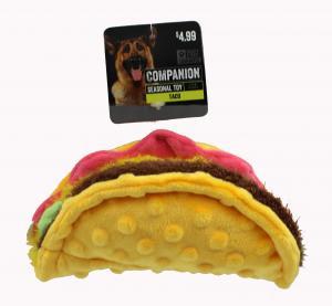 Companion Taco Dog Toy