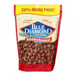Blue Diamond Smokehouse Almonds Bonus Bag