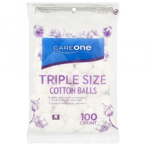CareOne Triple Size Cotton Balls