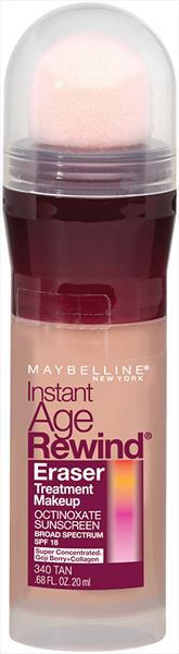 Maybelline IAR Eraser Foundation - Tan