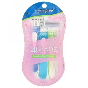 CareOne Women's 4-Blade Disposable Razor