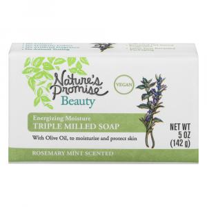 Nature's Promise Triple Milled Soap Rosemary Mint