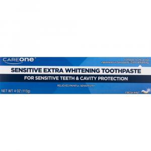 CareOne Sensitive Extra Whitening Toothpaste