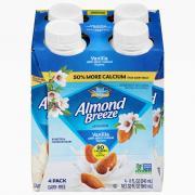 Blue Diamond Almond Breeze Vanilla Almond Milk