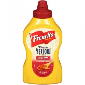 French's Classic Spicy Yellow Mustard With Cayenne Pepper