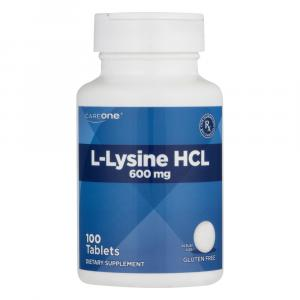 CareOne L-Lysine HCL 600mg Tablets