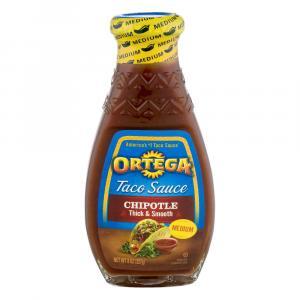 Ortega Smoky Chipotle Thick & Smooth Sauce