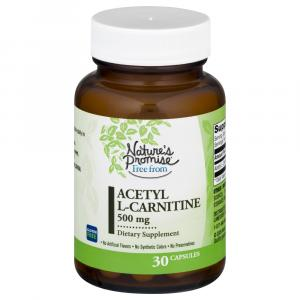 Nature's Promise Acetyl L-Carntine 500 Mg