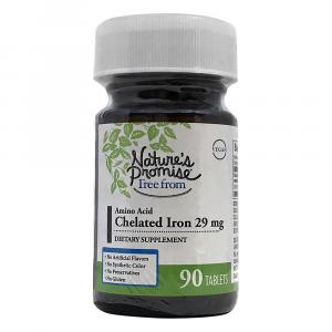 Nature's Promise Chelated Iron 29 Mg Dietary Supplement