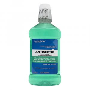 CareOne Antiseptic Mouth Rinse Spring Mint