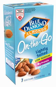 Blue Diamond On The Go Lightly Salted Almonds