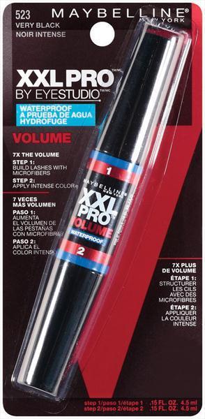 Maybelline XXL Pro Volume WP Mascara - Very Black