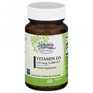 Nature's Promise Vitamin D3 5000 IU
