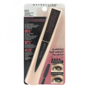 Maybelline Total Temptations Brownish Black 603 Mascara