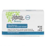 Nature's Promise Triple Milled Soap Fragrance Free
