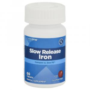 CareOne Slow Release Iron Tablets