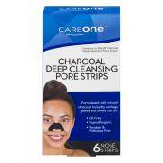 CareOne Charcoal Deep Cleansing Pore Strips