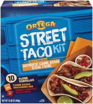 Ortega Carne Asada Street Taco Kit
