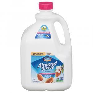 Blue Diamond Almond Breeze Unsweetened Vanilla Almond Milk