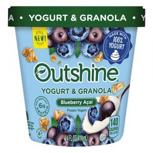 Outshine Blueberry Acai Yogurt & Granola Frozen Yogurt