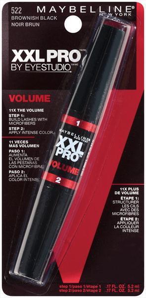 Maybelline XXL Pro Volume Mascara - Brownish Black