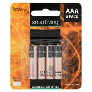 Smart Living AAA Alkaline Batteries