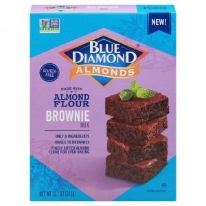 Blue Diamond Gluten Free Almond Flour Brownie Mix