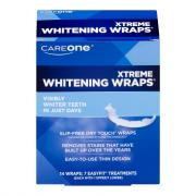 CareOne Dry Touch Xtreme Whitening Wraps